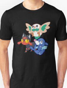 Pokemon Sun and Moon Starters Unisex T-Shirt
