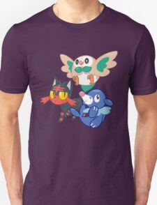 Pokemon Sun and Moon Starters Unisex T-Shirt