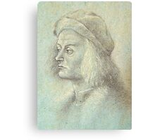 The Courtier Canvas Print