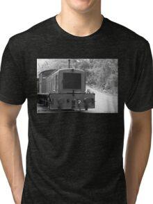 Diesel Locomotive Tri-blend T-Shirt