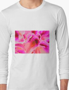 Fantasy in Pink ( Painting ) Long Sleeve T-Shirt
