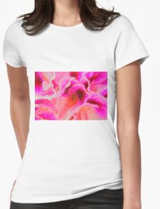 Fantasy in Pink ( Painting ) Womens Fitted T-Shirt