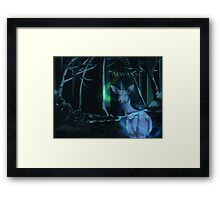 Always (With Text) Framed Print