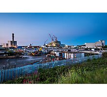 Poolbeg Incinerator, Dublin Photographic Print