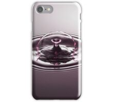 Pink Arch ~ Water Drops iPhone Case/Skin