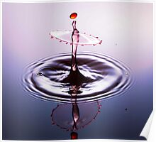 Ballet Dancer ~ Water Drops Poster