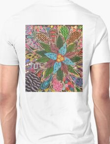 Flower, Teardrops, and Bubbles T-Shirt