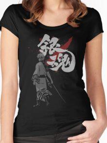 Sakata Gintoki - Gintama anime Women's Fitted Scoop T-Shirt