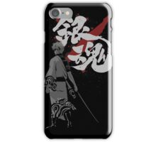 Sakata Gintoki - Gintama anime iPhone Case/Skin