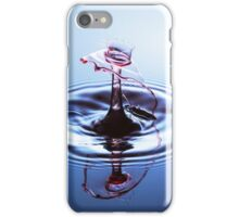 Red Bonnet ~ Water Drops iPhone Case/Skin