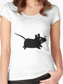 Xfce Mouse Women's Fitted Scoop T-Shirt