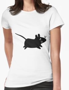Xfce Mouse Womens Fitted T-Shirt