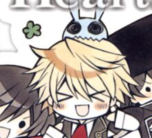 The Chibi Trio (Pandora Hearts) Sticker