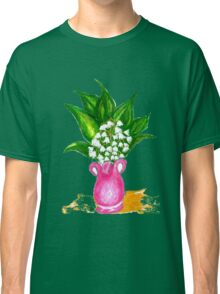 May Lily Painting Classic T-Shirt