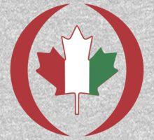 Ivory Coast Canadian Multinational Patriot Flag Series Baby Tee