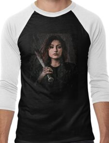 Z nation - Addison portrait Men's Baseball ¾ T-Shirt