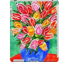 Tulips in a Vase Painting iPad Case/Skin