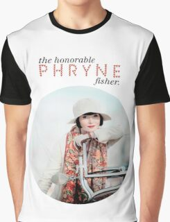 The Honorable Phryne Fisher Graphic T-Shirt