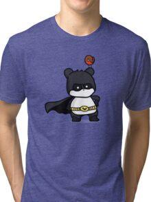 BatPanda and a Robin Tri-blend T-Shirt