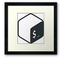 Official Bash Logo Framed Print