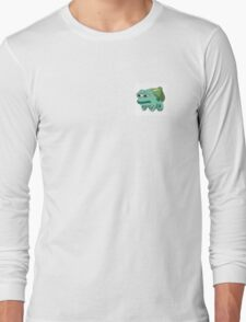 pepe bulbasaur Long Sleeve T-Shirt