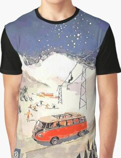 Vintage Samba in the snow Graphic T-Shirt