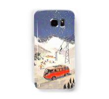 Vintage Samba in the snow Samsung Galaxy Case/Skin
