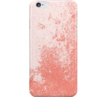 Earth Sweat Design (Peach Echo Color) iPhone Case/Skin