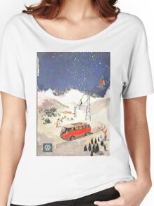 Vintage Samba in the snow Women's Relaxed Fit T-Shirt