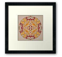- Sand manala - Framed Print