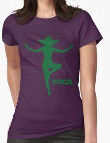 Yoga Yoda Womens Fitted T-Shirt