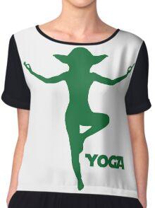 Yoga Yoda Chiffon Top
