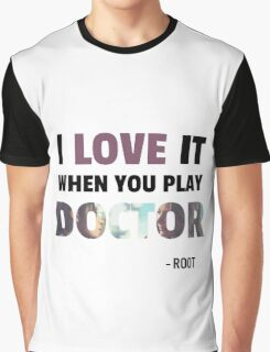Root & Shaw - Doctor Graphic T-Shirt