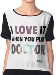 Root & Shaw - Doctor Chiffon Top