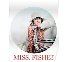 MISS. FISHER Poster