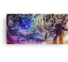 BigBlueHead Canvas Print