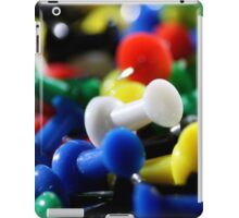Push Pins iPad Case/Skin