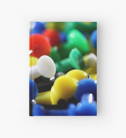 Push Pins Hardcover Journal