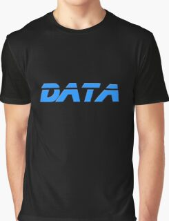 I Love Data - Lieutenant Commander T-Shirt Graphic T-Shirt