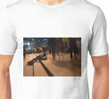 Getting Low to get the Shot Unisex T-Shirt