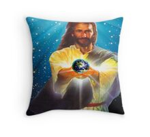 God Bless the World Throw Pillow