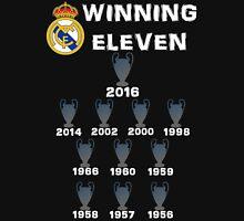 Real Madrid Winning 11 Champions League (B) Unisex T-Shirt
