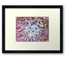 Dandelion Fluff Cloud Framed Print