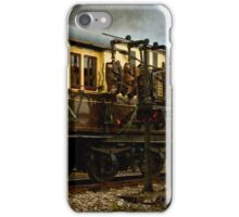 Catching the Mail On The Travelling Post Office iPhone Case/Skin