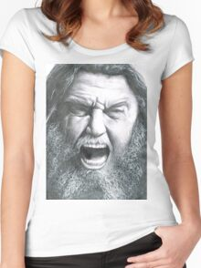 Tom Araya - Slayer Women's Fitted Scoop T-Shirt
