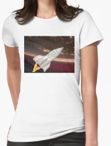 Get your Rocket off! Womens Fitted T-Shirt