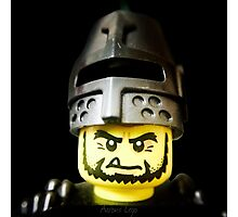 The Frightening Knight is here Photographic Print