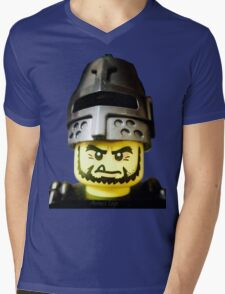The Frightening Knight is here Mens V-Neck T-Shirt