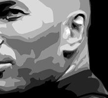 Zinedine Zidane - Vector Poster Sticker
