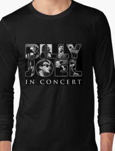 black billy joel concert Long Sleeve T-Shirt